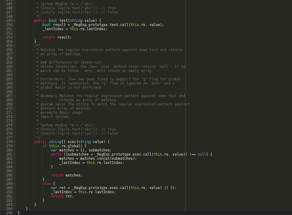JS++ for Ace AJAX Cloud9 IDE