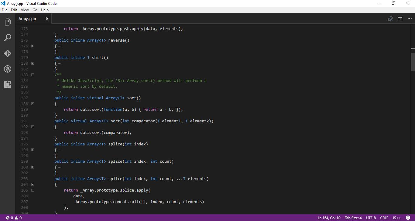 JS++ for Visual Studio Code